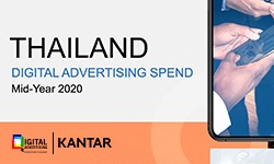 Press Report Thailand Digital Advertising Spend Mid-Year 2020